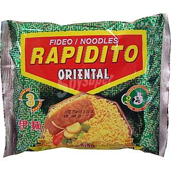 ORIENTAL Fideo Rapidito sabores Envase 100 g