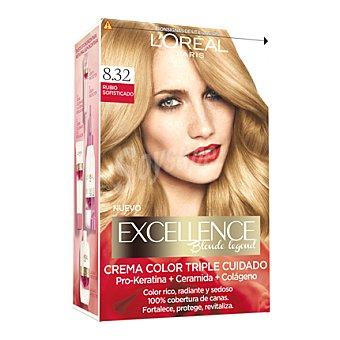 Excellence L'Oréal Paris Tinte creme nº 8.32 Rubio Sofisticado 1 ud