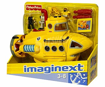 FISHER PRICE Vehiculo de Rescate Submarino Imaginext 1 Unidad