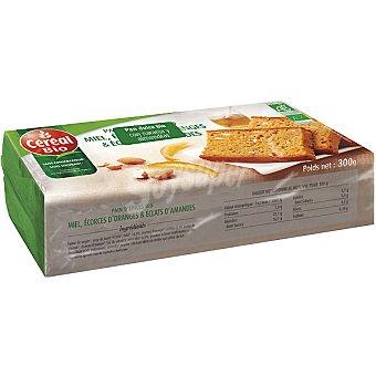 CEREAL BIO pan dulce con naranja y almendras ecológico  envase 300 g