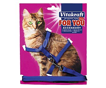 For You Vitakraft Arnés de nylon para gatos 1 unidad
