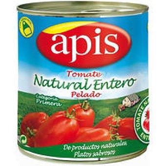 Apis Tomate natural entero pelado Lata 780 g