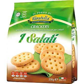 FARABELLA Crackers salados sin gluten bolsa 200 g