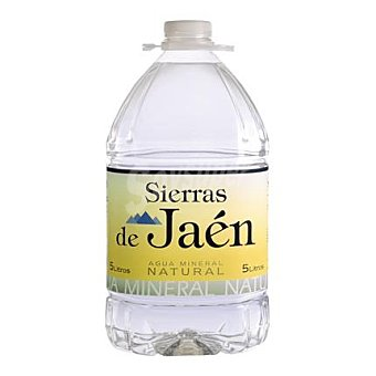 Sierra de Jaén Agua mineral natural 5 l