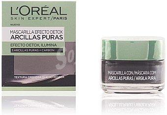 L'Oréal Skin expert mascarilla arcillas puras efecto detox Tarro 50 ml