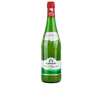 Zapiain Sidra natural del Pais Vasco Botella de 75 cl