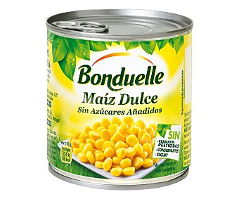 Bonduelle Maíz dulce sin azúcares añadidos 285 g