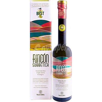 Rincon Aceite de oliva virgen extra ecológico DO Priego de Córdoba DE LA subbetica Botella 500 ml