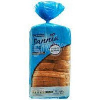 Eroski Sannia Pan De Molde Multicereal Paquete 450 gr