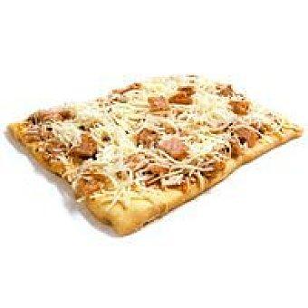 Roscris Pizza cuadrada de jamón-queso 220 g