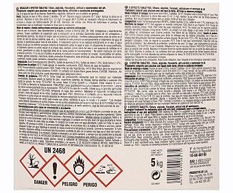 Dosaclor Tratamiento 5 funciones (desinfectante, algicída, floculante y antical...) en tabletas de 200 gramos 5 Kilogramos