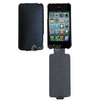 Ideus Funda cuero para iphone 4 con cierre de solapa ideus
