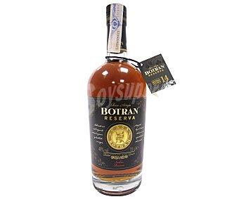 BOTRAN Ron añejo reserva Botella de 70 centilitros