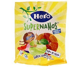 Hero Caramelos de goma con sabor a fruta 80 gramos
