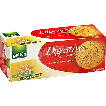 GULLON Digestiva Galletas con 33% menos grasa Paquete 400 g