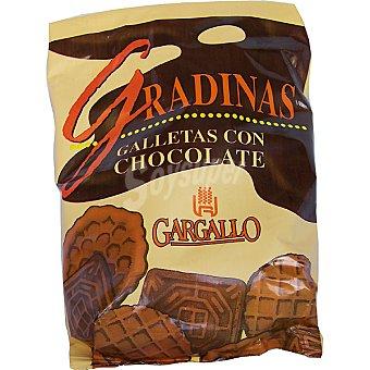 GARGALLO Gradinas galletas con chocolate Bolsa 200 g