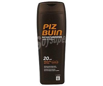 PIZ BUIN Loción solar hidratante con factor protección 20 (media) 200 ml