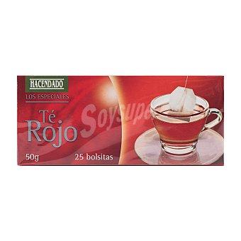 Hacendado Infusión té rojo 25 bolsitas - 50 g