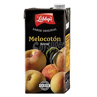 Libby's Néctar de melocotón Brick de 1 litro