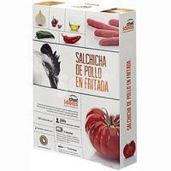 CHEF IDEAS C. Salchicha de pollo en fritada Bandeja 260 g