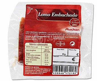 Auchan Lomo Embuchado Taco 300 Gramos