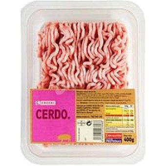 Eroski Picada de cerdo burger meat Bandeja 400 g