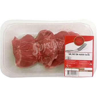 Roma Galtas de cerdo sin hueso (carrillada) 500 g peso aprox