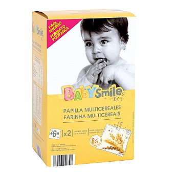 Baby Smile Papilla multicereal Caja 1200 gr