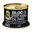 Bloc de foie gras de pato Lata 130 g Martiko