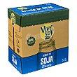 Bebida soja clasica 100% vegetal Brick pack 6 x 1 l - 6 l Vivesoy