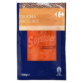 Carrefour Trucha ahumada 100 g