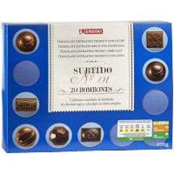 Eroski Bombones surtidos Caja 200 g