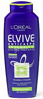 Elvive L'Oréal Paris Champú anticaspa cabello graso Bote 300 ml