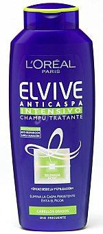 Elvive L'Oréal Paris Champu anticaspa cabellos grasos 300 ML