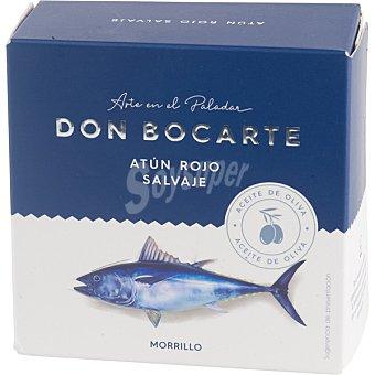 Don bocarte Morrillo de atún rojo salvaje en aceite de oliva lata 168 g neto escurrido lata 168 g neto escurrido