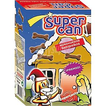 SUPERCAN Mini huesos navideños para perro Caja 160 g