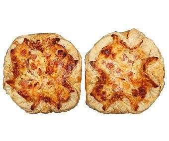 SNACK SALADO Cesta de jamón y queso 2 uds