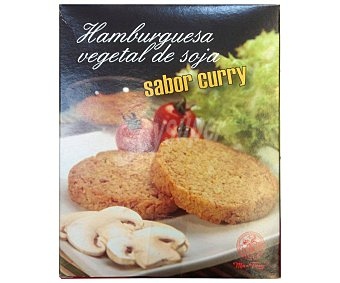 Manfong Hambuguesa vegetal con sabor a curry 2 x 90 g