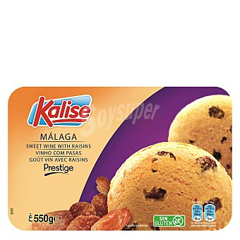 Kalise Helado Malaga prestige sin gluten 550 g