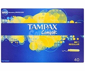 Tampax Tampones Regular compak 40 Unidades