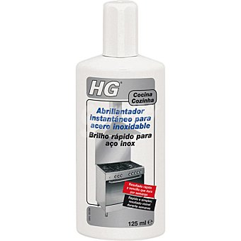 HG Abrillantador instantáneo para acero inoxidable Botella 125 ml