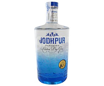JODHPUR Ginebra inglesa tipo London dry gin Botella de 70 centilitros