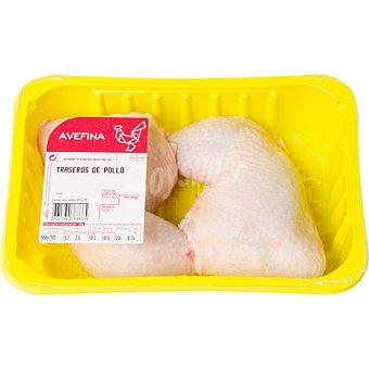 AVEFINA Cuartos Traseros de Pollo - Peso Aproximado  2 unidades - Bandeja 750 g