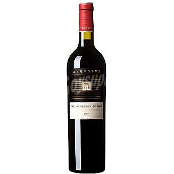 AVGVSTVS Vino tinto cabernet sauvignon merlot D.O. Penedés botella 75 cl 75 cl