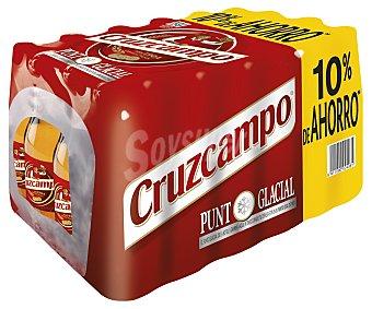 Cruzcampo Cerveza 10% Pack 24X250ML