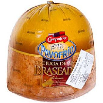 Campofrío Pechuga de pavo sin sal braseada Sobre 100 g