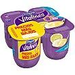 Yogur desnatado sabor limon pack 4 unds. 125 g Vitalínea Danone