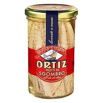 Ortiz Caballa del sur en aceite de oliva en filetes Frasco de 165 grs