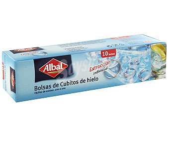 Albal Bolsas de cubitos de hielo Caja 10 unidades