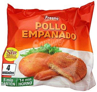 Fresno Pollo empanado congelado Paquete 400 g